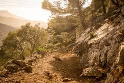 Mediterraner Wanderweg