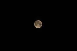 Mond über Kiel