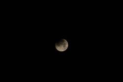 Mondfinsternis über Kiel