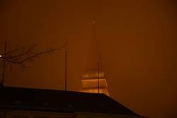 Dunstiger Kieler Rathausturm