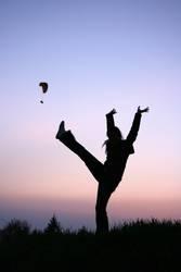 Kick the Paraglider!