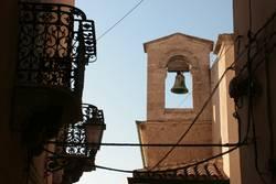 Campanile - Belltower of Castelsardo, Sardinia, Italy