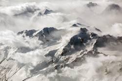 Alpenblick - Über den Wolken I