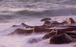 Steine - Ozean - Wasser