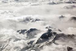 Alpenblick - Über den Wolken II