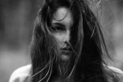 Helena im Wind
