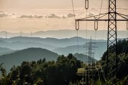 Strom über dem Schwarzwald