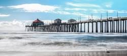 Huntington Beach Pier in Süd-Kalifornien
