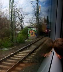 auf Gleisen zurück in den Alltag...