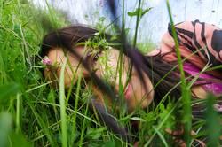 Ich im Gras