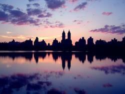 Central Park Sonnenuntergang