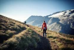 Der einsame Wanderer