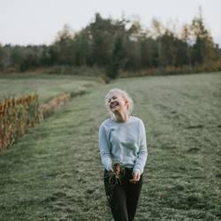 Gras macht glücklich ;)