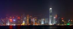 Hong Kong Skyline II (Panorama)