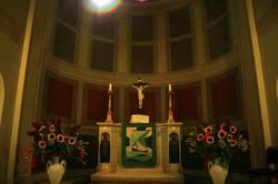 Pafueninsel Kirche