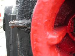 rotes dings am boot