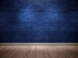 Blue wall - background