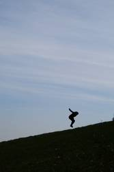 Treppenspringen