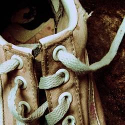 Ein alter Schuh