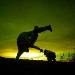Capoeira - Trotz Kälte - Dia 1