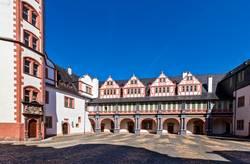 Innenhof des Schlosses Weilburg
