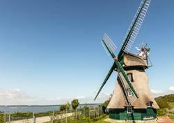 Windmühle Charlotte Naturschutzgebiet Geltinger Birk
