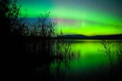 Aurora borealis ganz klar