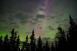 Nordlichter-Glühen