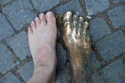 Füße - teilweise immobil