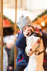 Freuden auf dem Weihnachtsmarkt