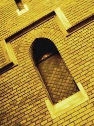 finsteres Fenster