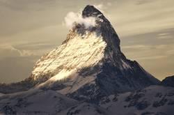 Matterhorn im wunderschönen Abendlicht