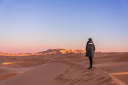 Marokko - Sonnenuntergang