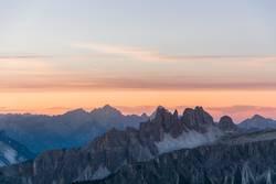Dolomiten - Sonnenuntergang