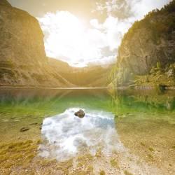 naravni spomenik krnsko jezero