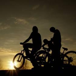 bikers daylight