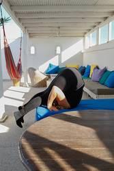Yoga auf'm Sonnendeck