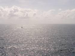 Wer da wohl segelt?