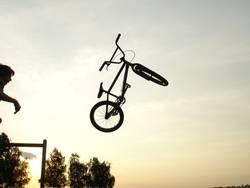 BMX wurf