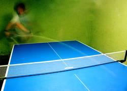 Tennis auf Tisch