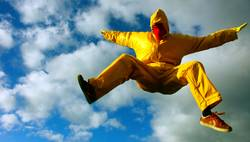 gelb™ - in der Luft