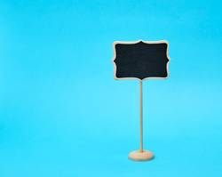 wooden pointer on a stick for writing text