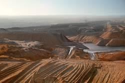 Tagebau V Haldenlandschaft