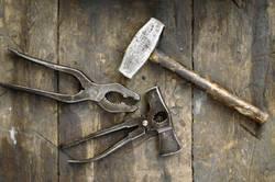 werkzeug hammer zange