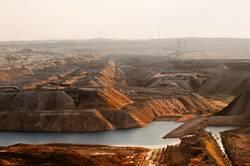 Tagebau IV Haldenlandschaft
