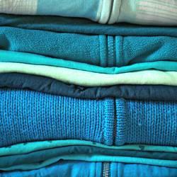Blau, ja blau sind alle meine Kleider...