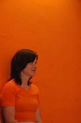 Ute in orange