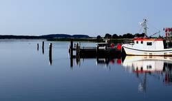 Ein sonniger Tag auf Rügen an der Ostsee