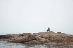 the fisherman, alone
