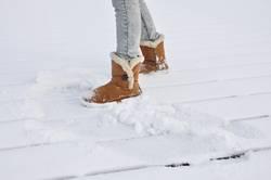 auf dem schnee